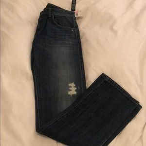 Joe's distressed jeans. Classic fit